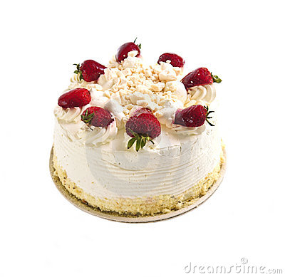 Isolated cake