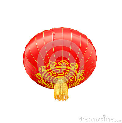 Free Isolated Chinese Lantern Stock Photography - 40299672