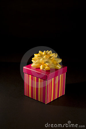Isolated Christmas Gift