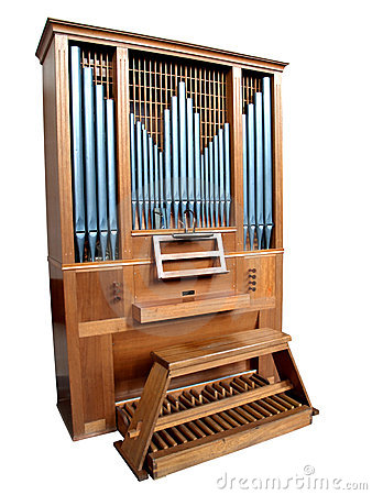 Isolated Church Organ