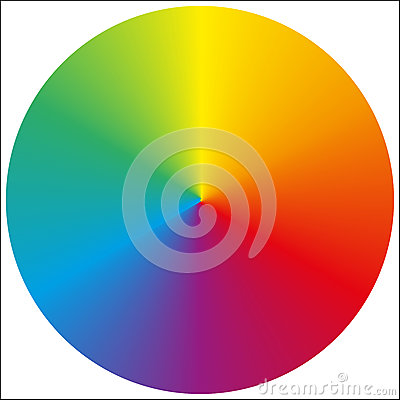 Free Isolated Circular Rainbow Gradient Stock Photography - 52062962