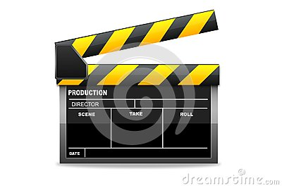 Isolated  clapboard