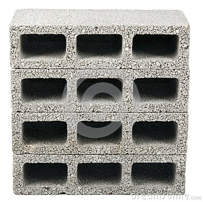 Free Isolated Construction Blocks - Three Royalty Free Stock Photography - 29908947