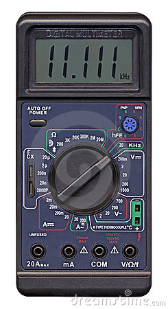 isolated digital multimeter, measurement,