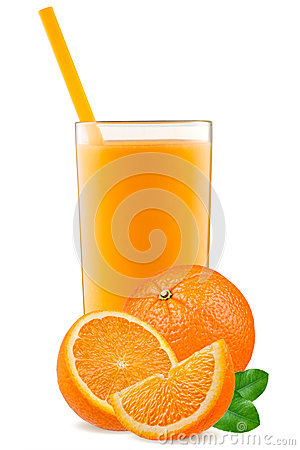 Free Isolated Drink. Slices Of Orange Fruit And Glass Of Juice Isolated On White With Clipping Path Royalty Free Stock Photos - 89791238