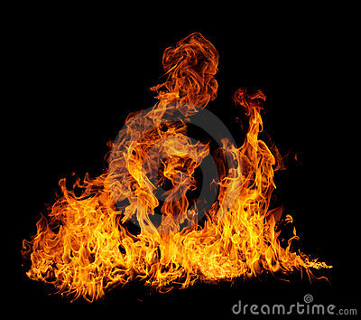 Isolated flames