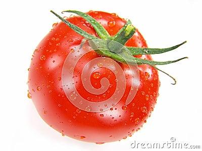 Isolated Fresh Tomato