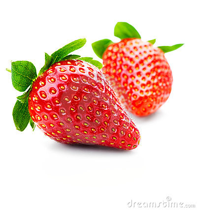 Free Isolated Fruits - Strawberries Stock Photo - 4255130