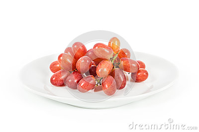 Isolated grapes