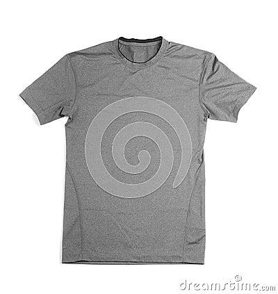 Free Isolated Grey Gray Shirt Stock Photos - 18738303