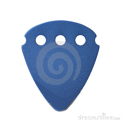 Isolated Guitar Pick