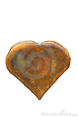 Isolated heart(with clipping path)
