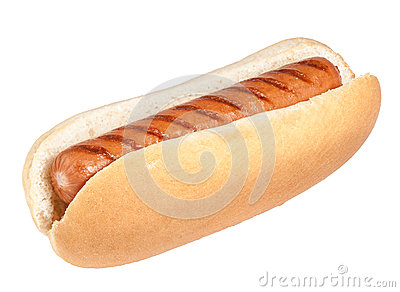 Isolated Hotdog