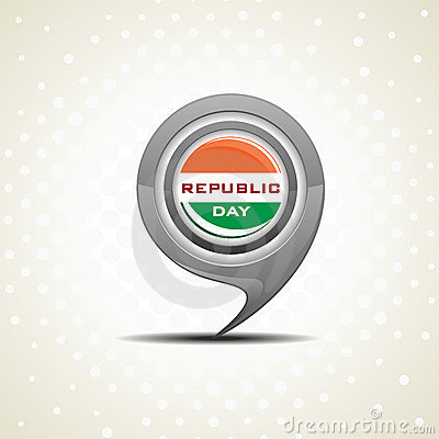 Isolated icon for Republic Day