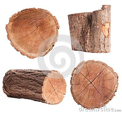 Free Isolated Log Set Stock Photos - 69353623