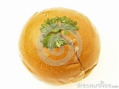 Isolated mayo bread