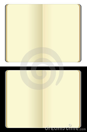 Free Isolated Moleskine Note Books Royalty Free Stock Photo - 12831785