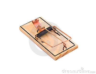 Isolated Mouse Trap