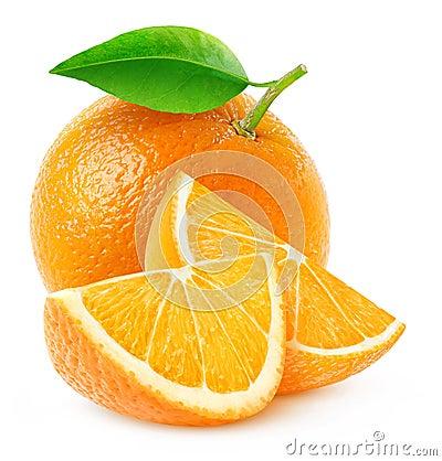 Free Isolated Orange Fruit And Slices Stock Photos - 66317053