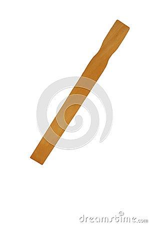 Free Isolated Paint Stirrer Stick On White Royalty Free Stock Photo - 4578855
