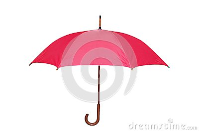 Isolated part of  umbrella