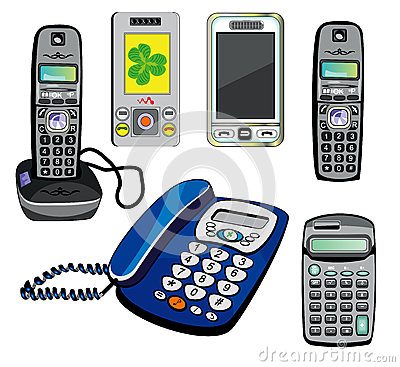 Isolated phones and calculator