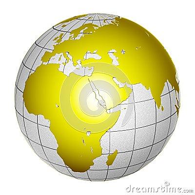 Planet Globe Earth 3D