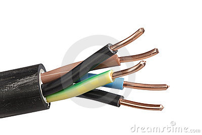 Isolated power supply cable