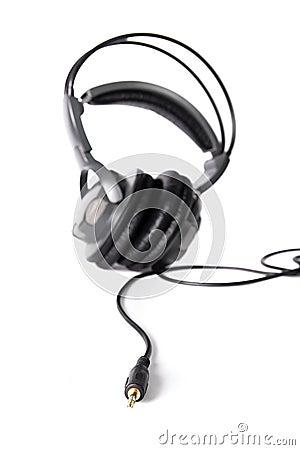Isolated powerful stereo headphones