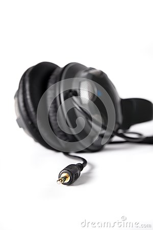 Isolated powerful stereo headphones