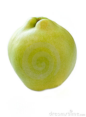 Isolated Quince