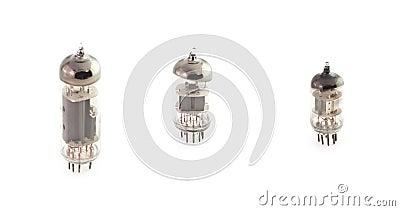 The isolated radio tubes