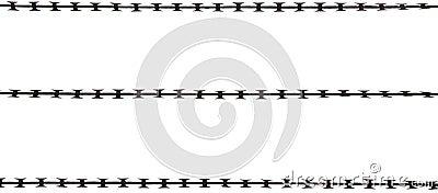 Isolated Razor Wire