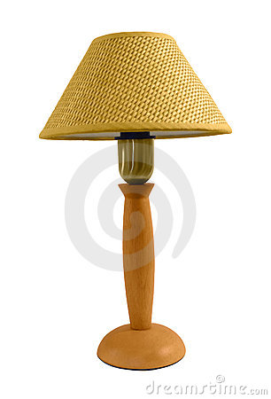Isolated reading lamp
