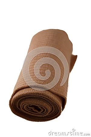 Isolated roll of Gauze