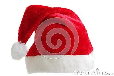 Isolated Santa hat