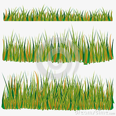 Isolated set of various glass for decoration Vector Illustration