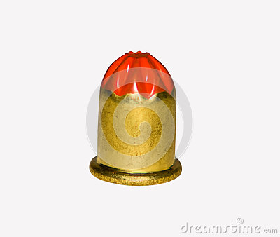 Isolated Small Bullet