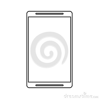 Isolated smartphone device design Vector Illustration