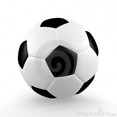 Isolated Soccerball