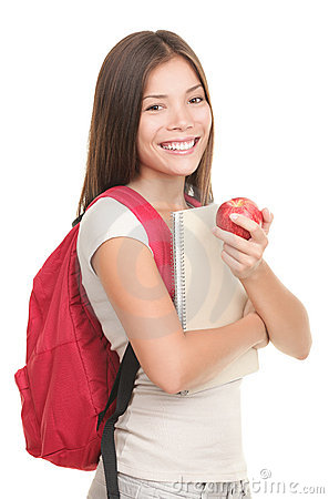 Free Isolated Student - Woman Stock Photos - 15299363
