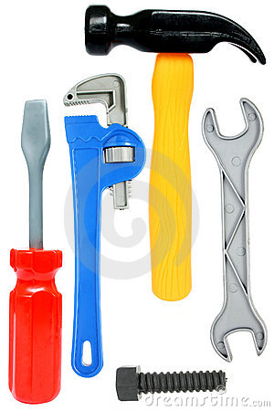 Free Isolated Toy Toolkit Stock Photo - 340800