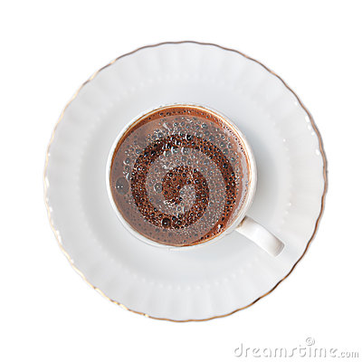 Isolated Turkish Coffee