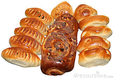 Isolated Ukrainian festive bakery Holiday Bread 14