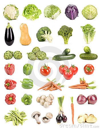 Free Isolated Vegetables Stock Images - 6241134