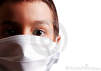 Isolated virus mask