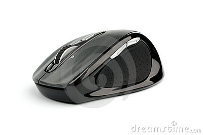 Isolated Wireless Mouse Royalty Free Stock Photo - Image: 18835185