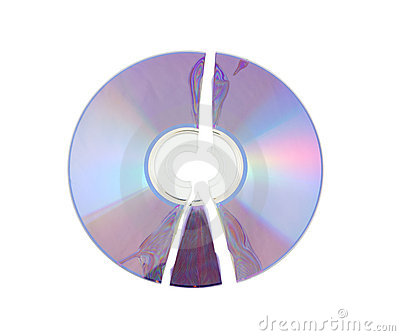 Isolerad broken cd
