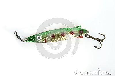 Isolerad fiskkrok