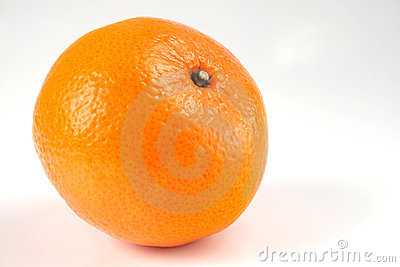 Isolerad orange